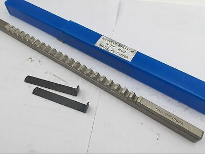 "5/16"" Inch Size C Push Type Keyway Broach Cutter HSS CNC Metalworking Tool"