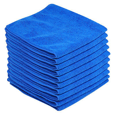 10 x 40x40cm Microfiber Drying Towel Cloth Rags For Car House Home Cleaning HY