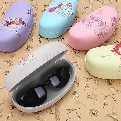 Flower Spectacle Glasses Eyeglasses Sunglasses Hard Case Box Protect Bag Holder