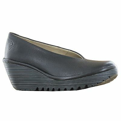 Fly London Yaz Black Womens Shoes