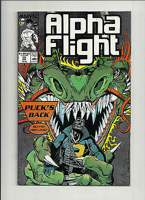 Alpha Flight #59 NM High Grade!