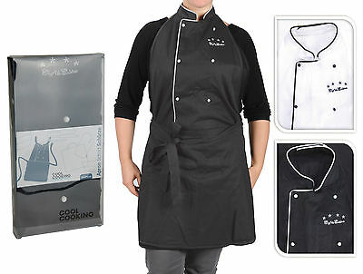 Top Quality Professional Chef Style Apron Cooks Apron Cooking Apron 100% Cotton