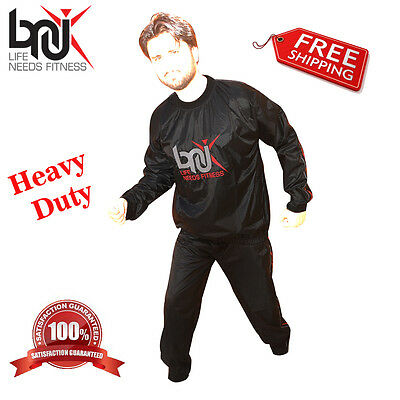 BNU Heavy Duty Sweat Suit Sauna Exercise Gym Suit Fitness weight loss Slim