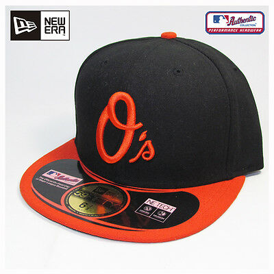 Baltimore Orioles MLB Authentic Collection New Era Alternate On-Field Cap Hat