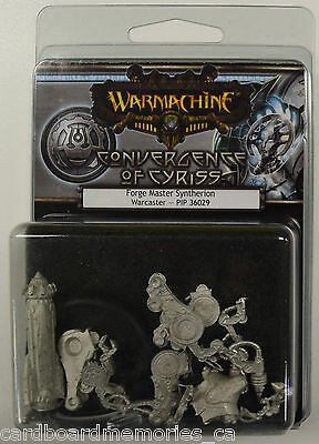 Warmachine Convergence of Cyriss Forge Master Syntherion PIP 36029 - NEW