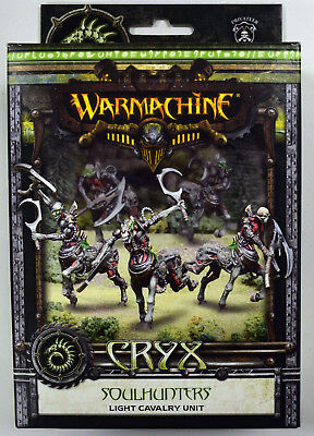 Warmachine Cryx Soulhunters Light Cavalry Unit PIP 34121 - NEW