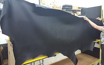Harley-Davidson Leather Black Hide  original leather from a factory supplier