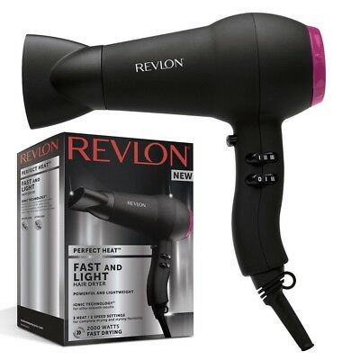 Revlon Womens Harmony Professional Dry & Style Compact Power Hairdryer 2000W NEW