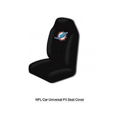 Incredible Nfl Nib Car Seat Cover By Fremont Die Miami Dolphins Pabps2019 Chair Design Images Pabps2019Com