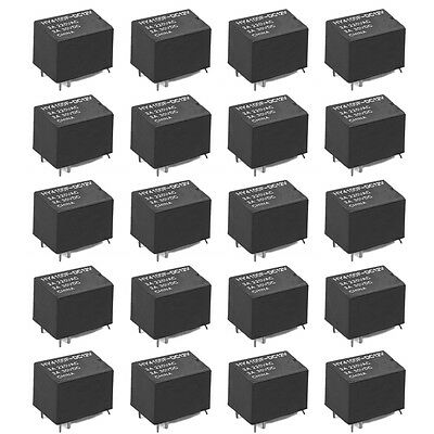 20 PCS Mini Electronic Relay DC 12V HY