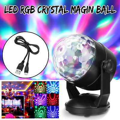 Sound Activated Laser Projector RGB DJ Bar Disco Light Stage Lighting Xmas Party