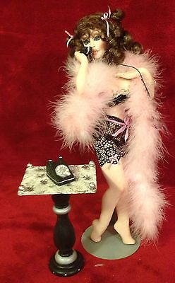 """Jill Nemirow-Nelson """"Oh, Really"""" Nude Jointed Porcelain OOAK Artist Doll"""
