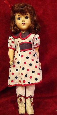 "Vintage 14"" R&B Arranbee Composition Doll - Character Girl Cowgirl"
