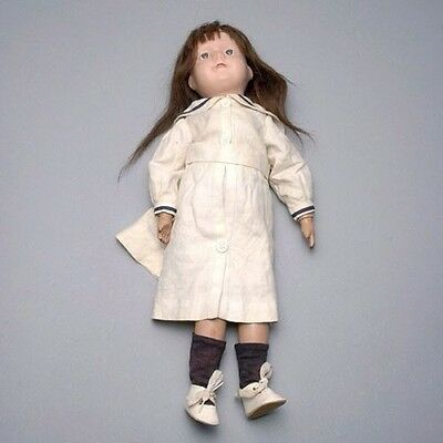 Antique Schoenhut Wood Character Doll - 20 Inches Tall