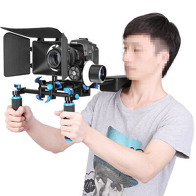 Neewer Aluminum Movie Kit Film Rig for Canon Nikon Sony and other DSLR Camera