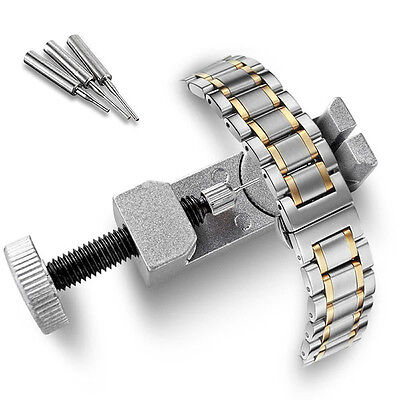All-Metal Adjustable Watch Strap Band & Bracelet Repair Tool Link Pin Remover