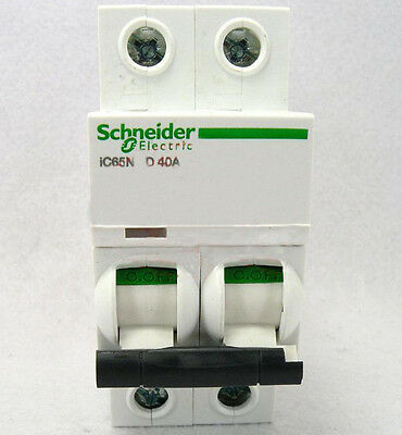 New Schneider small IC65N 2P D40A air circuit breaker switch