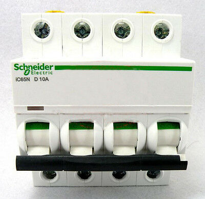 New Schneider small IC65N 4P D1A air circuit breaker switch
