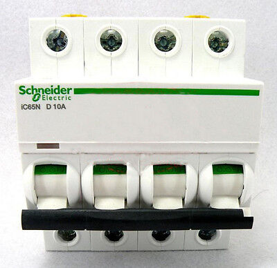 New Schneider small IC65N 4P D2A air circuit breaker switch