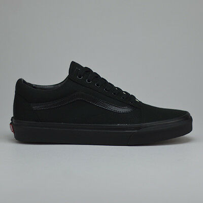 cccedc38e2 VANS OLD SKOOL Trainers Pumps Shoes Black Black UK Size 3