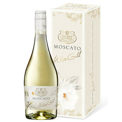 Brown Brothers 2014 White Gold Moscato Sweet Wine 750ml Birthday Gift