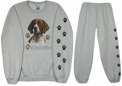 GERMAN SHORTHAIRED Pointer sweatshirt and sweat pants