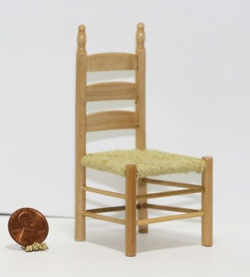 Dollhouse Miniature Oak Desk Chair Shelf Set 1:12 inch scale J6 Dollys Gallery