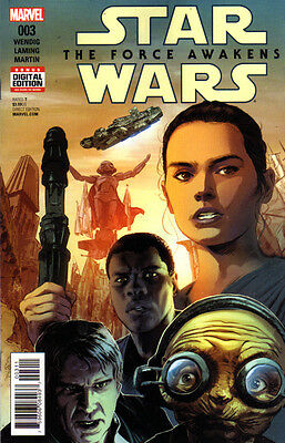 STAR WARS The Force Awakens (2016) #3 New Bagged