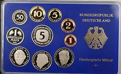 2000 Germany 10 Coin Proof Set- J- In Original Mint Packaging