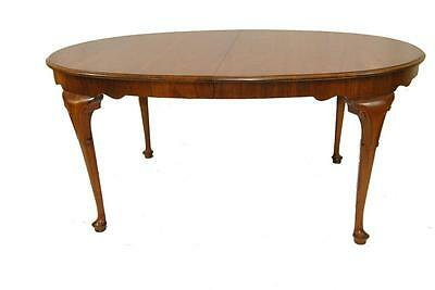 Georgia Style Queen Anne Cherry Oval Dining Room Table By Baker Milling Road 10'