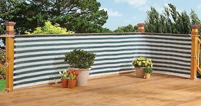 Deck & Fence Privacy Screen Garden Netting Net Patio Pool Hand Rail Cover Wind