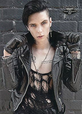 Andy Biersack Black Veil Brides Panic At The Disco  Mini Poster / Picture (ME67)