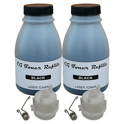2 Toner Refill for Brother TN-420 TN-450 cartridge HL2240 HL2270 w/ 2 reset gear