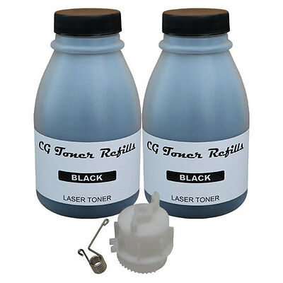 2 Toner Refill for Brother TN-420 TN-450 cartridge HL2240 HL2270 w/ reset gear