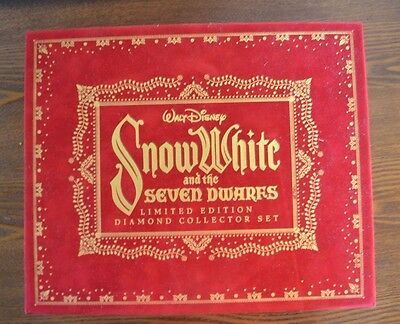 Snow White and the Seven Dwarfs Limited Edition Diamond Collector Set