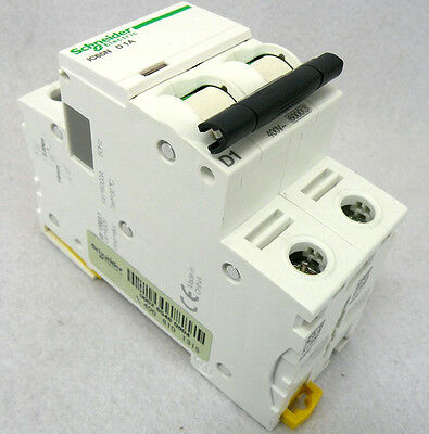 New Schneider small IC65N 2P D1A air circuit breaker switch