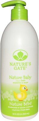 Baby Shampoo and Body Wash, Nature's Gate, 18 oz