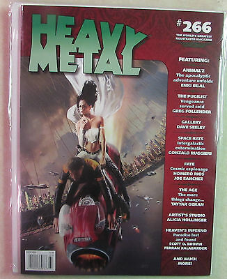 HM Communications HEAVY METAL The Adult Illustrated Fantasy Magazine -Issue #266