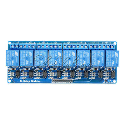 8 Channel 12V Relay Shield Module Board for Arduino UNO 2560 1280 ARM PIC AVR