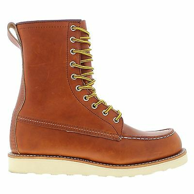 Red Wing Moc Toe 877 Tan Mens Boots