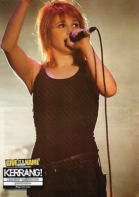 Paramore  Hayley Williams       Mini Poster / Picture (MF3)