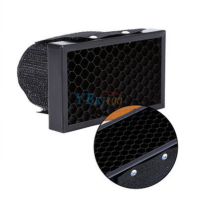 Flash Honeycomb Grid Spot Filter For Canon Nikon Speedlight Softbox Universal
