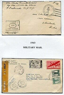 Morocco Us Forces World War Two Covers