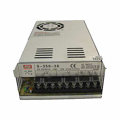 36V 10A 360W DC Regulated Switching LED Power Supply CNC WITH CE