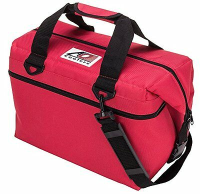 AO Coolers 24 PACK CANVAS RED AO24RD NEW