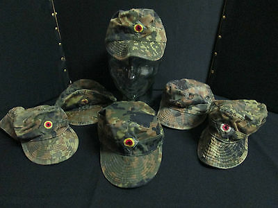 Genuine Real Brand New German Flecktarn Camo Hat Cap Australian Seller