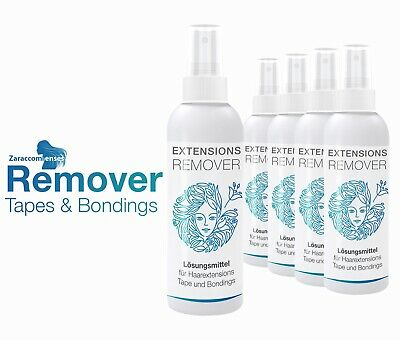 Tapeband Löser Remover für Tape In Extensions 100ml extra stark