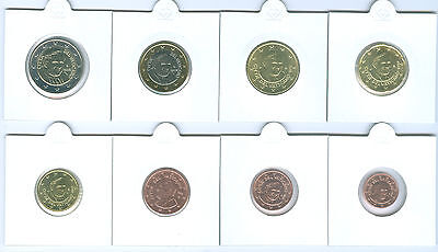 Vatican Euro coin set 1 Cent - with Coins of all 3 Popes