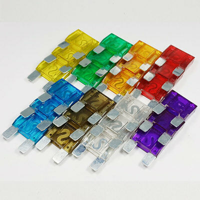 24 Piece Maxi Blade Fuse Assorted Kit Mixed 20 - 100 Amp Car Van Bike Amps A