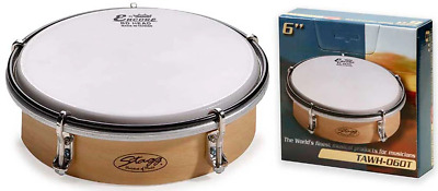 Stagg 6 Tuneable Wooden Hand Drum